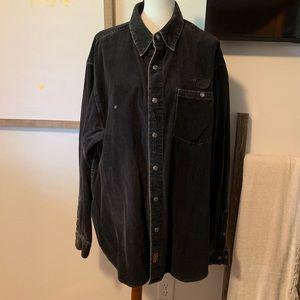 Men's corduroy Harley Davidson shirt/jacket